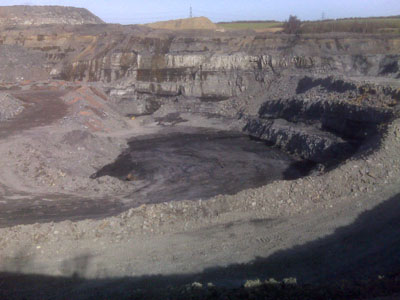 Coal Worked at a Site - mining engineering